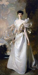 Daisy Leiter (Margaret Hyde, 19th Countess of Suffolk) | Sargent | Painting Reproduction