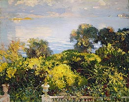 Oranges at Corfu | Sargent | Painting Reproduction
