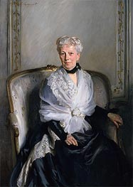 Mrs Edward Goetz, undated by Sargent | Painting Reproduction