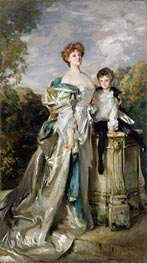 Lady Warwick and her Son | Sargent | Painting Reproduction