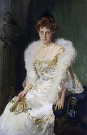 Portrait of Mrs. Charles Beatty Alexander (nee Harriet Crocker), 1902 von Sargent | Gemälde-Reproduktion