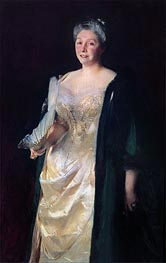 Mrs. William Playfair, 1887 von Sargent | Gemälde-Reproduktion