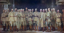 General Officers of World War I | Sargent | Painting Reproduction