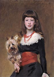 Miss Beatrice Townsend | Sargent | Painting Reproduction