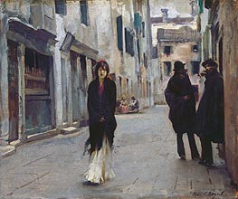 Street in Venice | Sargent | Painting Reproduction