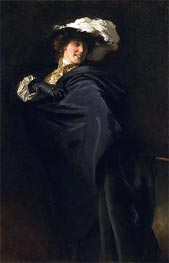 Portrait of Ena Wertheimer: A Vele Gonfie | Sargent | Painting Reproduction