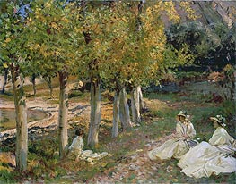 Autumn Leaves | Sargent | Painting Reproduction