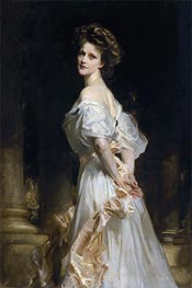 Nancy Astor | Sargent | Gemälde Reproduktion