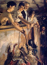 Marionettes | Sargent | Painting Reproduction