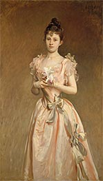 Miss Grace Woodhouse, 1890 by Sargent | Painting Reproduction