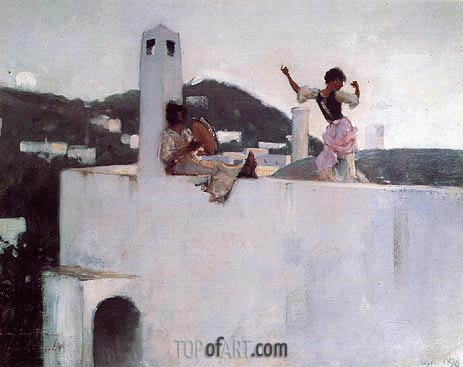 Capri, 1878 | Sargent | Painting Reproduction