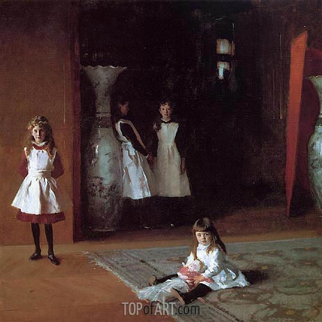 The Daughters of Edward Darley Boit, 1882 | Sargent | Gemälde Reproduktion