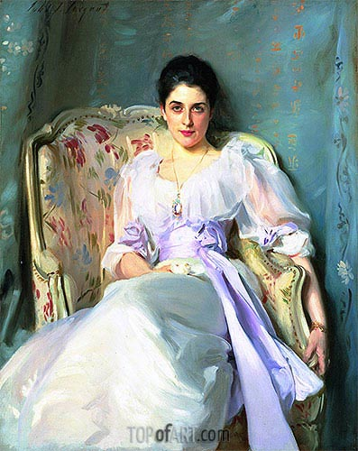 Lady Agnew of Lochnaw, c.1892/93 | Sargent | Painting Reproduction