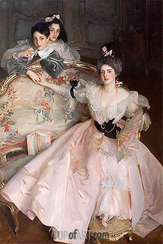 Mrs. Carl Meyer and Her Children, 1896 | Sargent | Painting Reproduction
