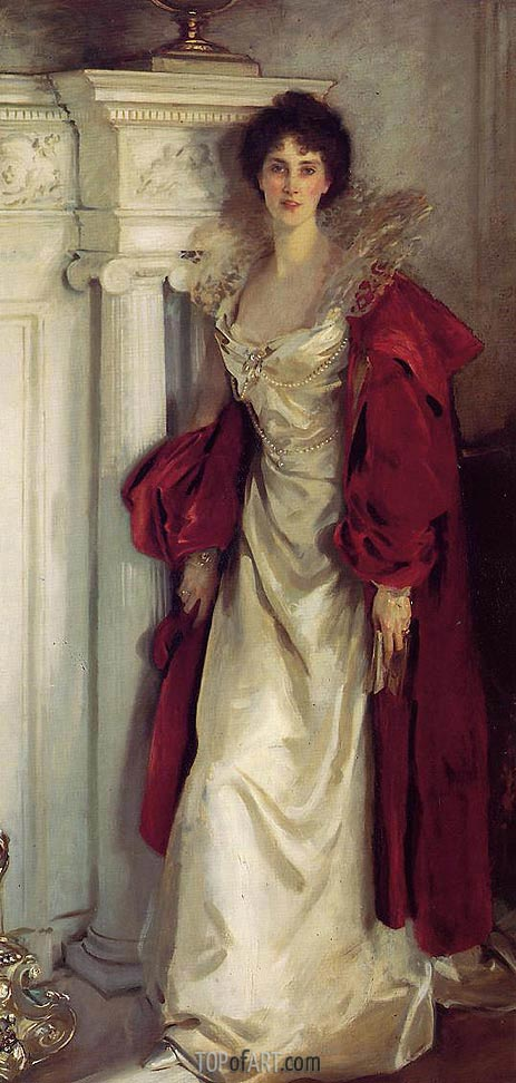 Winifred, Duchess of Portland, 1902 | Sargent | Painting Reproduction