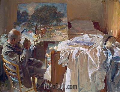 An Artist in his Studio, 1904 | Sargent | Painting Reproduction