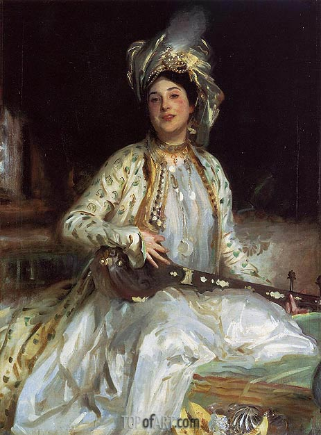 Almina, Daughter of Asher Wertheimer, 1908 | Sargent | Painting Reproduction