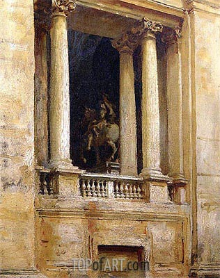 A Window in the Vatican, 1906 | Sargent | Painting Reproduction