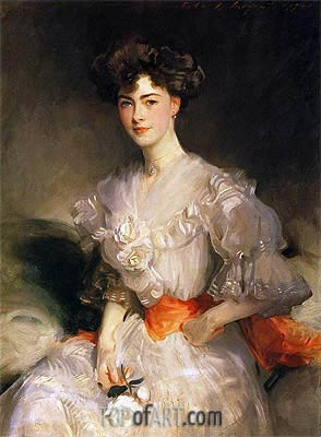 Maud Glen Coats, Duchess of Wellington, 1906 | Sargent | Gemälde Reproduktion