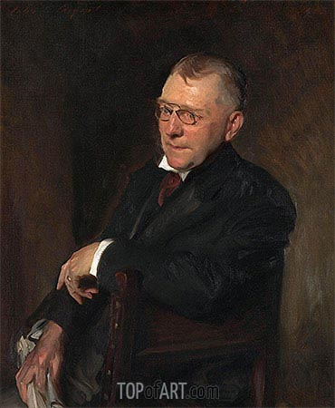 Portrait of James Whitcomb Riley, 1903 | Sargent | Painting Reproduction