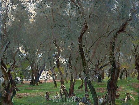 The Olive Grove, c.1910 | Sargent | Painting Reproduction