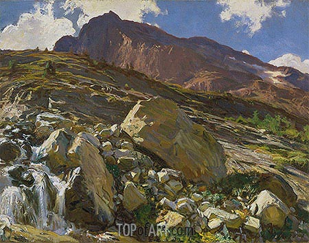 Simplon Pass, 1911 | Sargent | Painting Reproduction