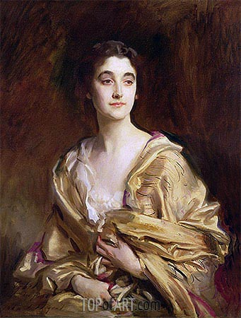 The Marchioness of Cholmondeley, 1989 | Sargent | Painting Reproduction