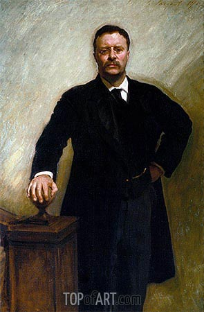 Theodore Roosevelt, 1903 | Sargent | Painting Reproduction