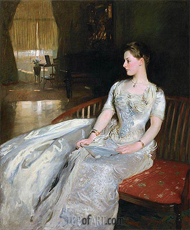 Mrs. Cecil Wade, 1886 | Sargent | Painting Reproduction