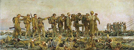 Gassed, 1919 | Sargent | Painting Reproduction