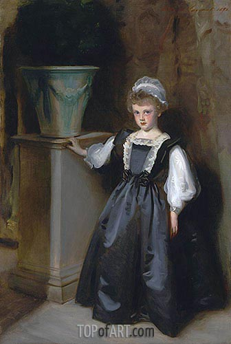 The Honorable Laura Lister, 1896 | Sargent | Painting Reproduction