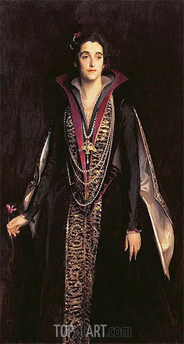 Portrait of the Marchioness of Cholmondeley, undated | Sargent | Painting Reproduction
