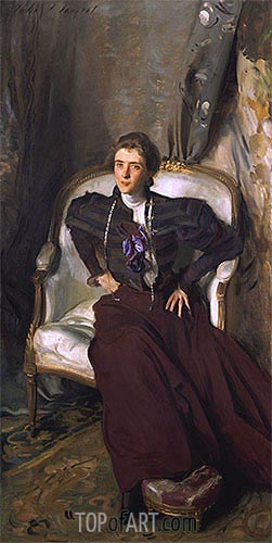 Portrait of Mrs Alice Brisbane Thursby, 1898 | Sargent | Painting Reproduction
