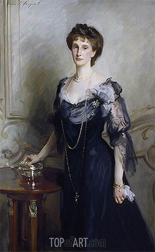 Lady Evelyn Cavendish, undated | Sargent | Gemälde Reproduktion
