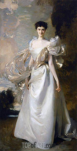 Daisy Leiter (Margaret Hyde, 19th Countess of Suffolk), 1898 | Sargent | Painting Reproduction
