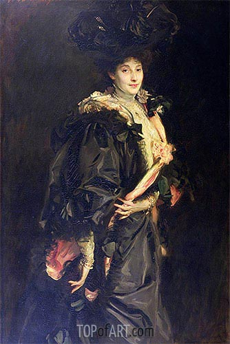 Portrait of Lady Sassoon, 1907 | Sargent | Gemälde Reproduktion