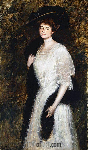 Mrs. George Mosenthal, 1906 | Sargent | Painting Reproduction