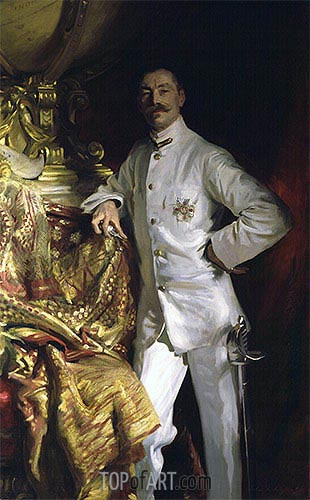 Sir Frank Swettenham, 1904 | Sargent | Painting Reproduction