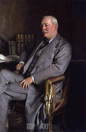 Evelyn Baring, 1st Earl of Cromer, 1902 | Sargent | Painting Reproduction