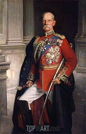 Frederick Sleigh Roberts, 1st Earl Roberts, 1906 | Sargent | Painting Reproduction