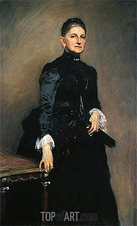 Eleanora O'Donnell Iselin (Mrs. Adrian Iselin), 1888 | Sargent | Painting Reproduction