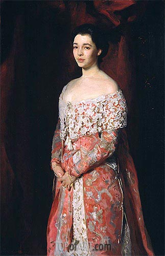 Portrait of Mrs Leopold Hirsch, 1902 | Sargent | Painting Reproduction