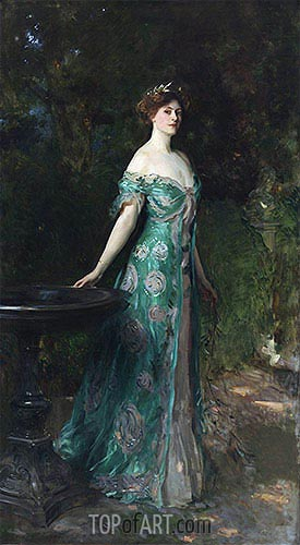 Portrait of Millicent, Duchess of Sutherland, 1904 | Sargent | Painting Reproduction
