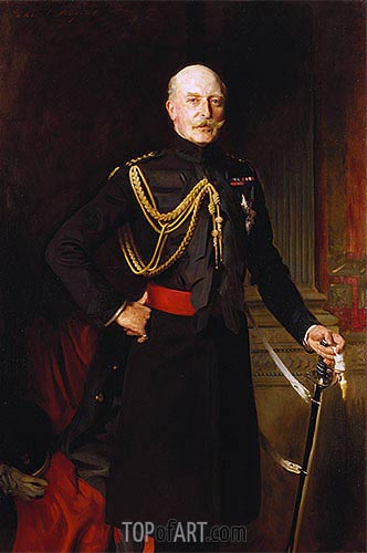 Arthur, Duke of Connaught, 1908 | Sargent | Gemälde Reproduktion