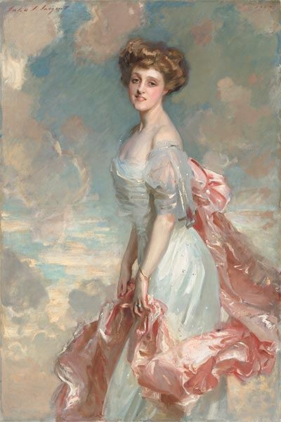 Miss Mathilde Townsend, 1907 | Sargent | Painting Reproduction