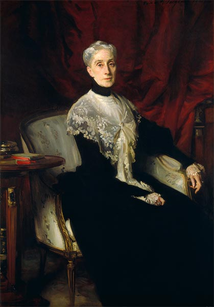 Ellen Peabody Endicott (Mrs. William Crowninshield Endicott), 1901 | Sargent | Gemälde Reproduktion