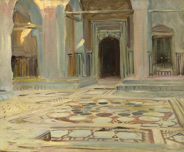 Pavement, Cairo, 1891 | Sargent | Painting Reproduction