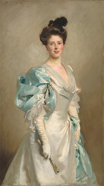 Mary Crowninshield Endicott Chamberlain (Mrs. Joseph Chamberlain), 1902 | Sargent | Painting Reproduction