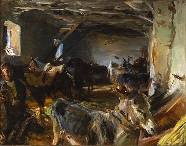 Stable at Cuenca, 1903 | Sargent | Painting Reproduction