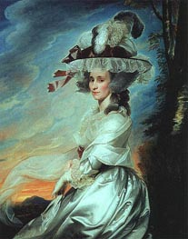 Mrs. Daniel Denison Rogers, 1784 by John Singleton Copley | Painting Reproduction